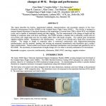 Cryogenic system for interferometric measurement of dimensional changes at 40 K